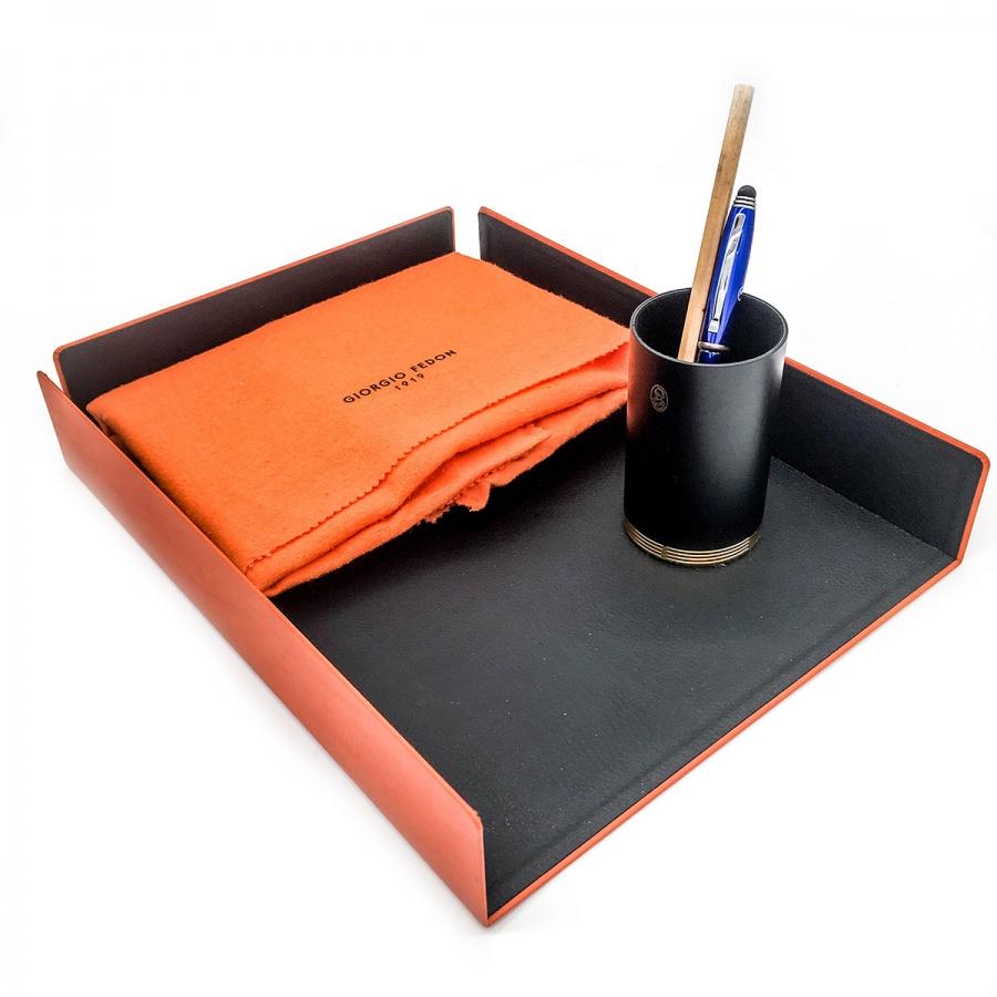 Лоток для бумаг от Giorgio Fedon в комплекте с держателем El Casco-3