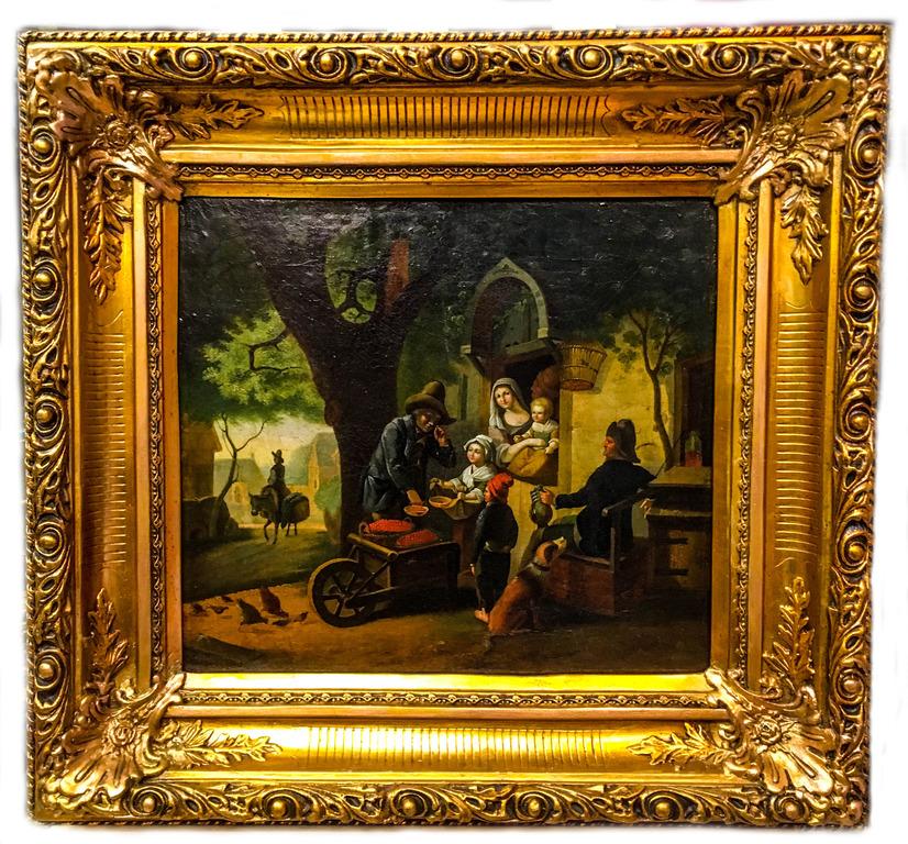Жанровая живопись, 19 век-4