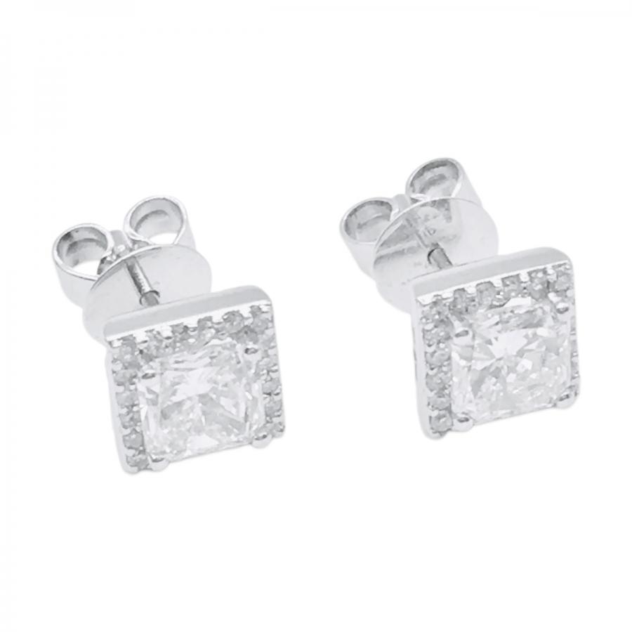 Серьги с бриллиантами 2.3 ct ПРОДАНО-2