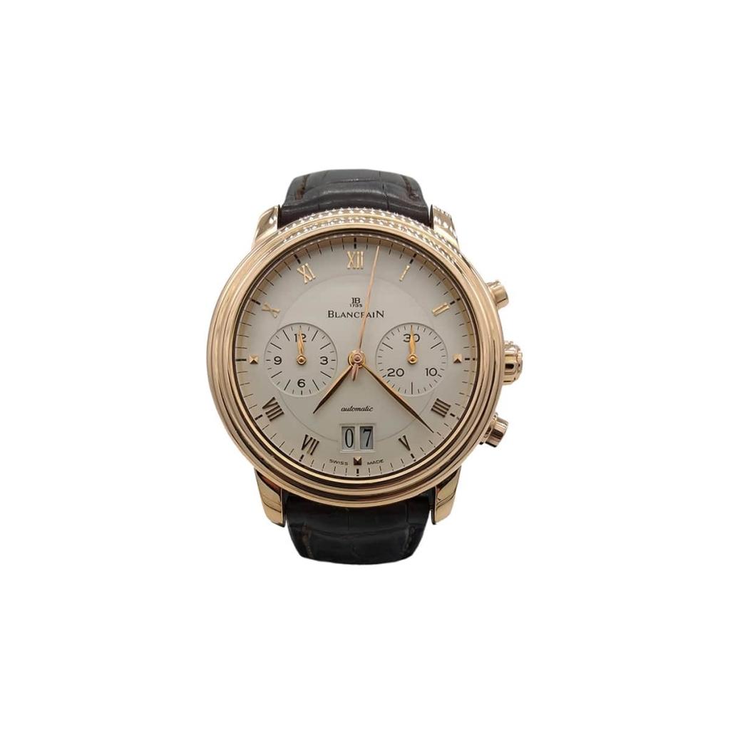 Blancpain Villeret Chronograph Large Date          ПРОДАНО-2