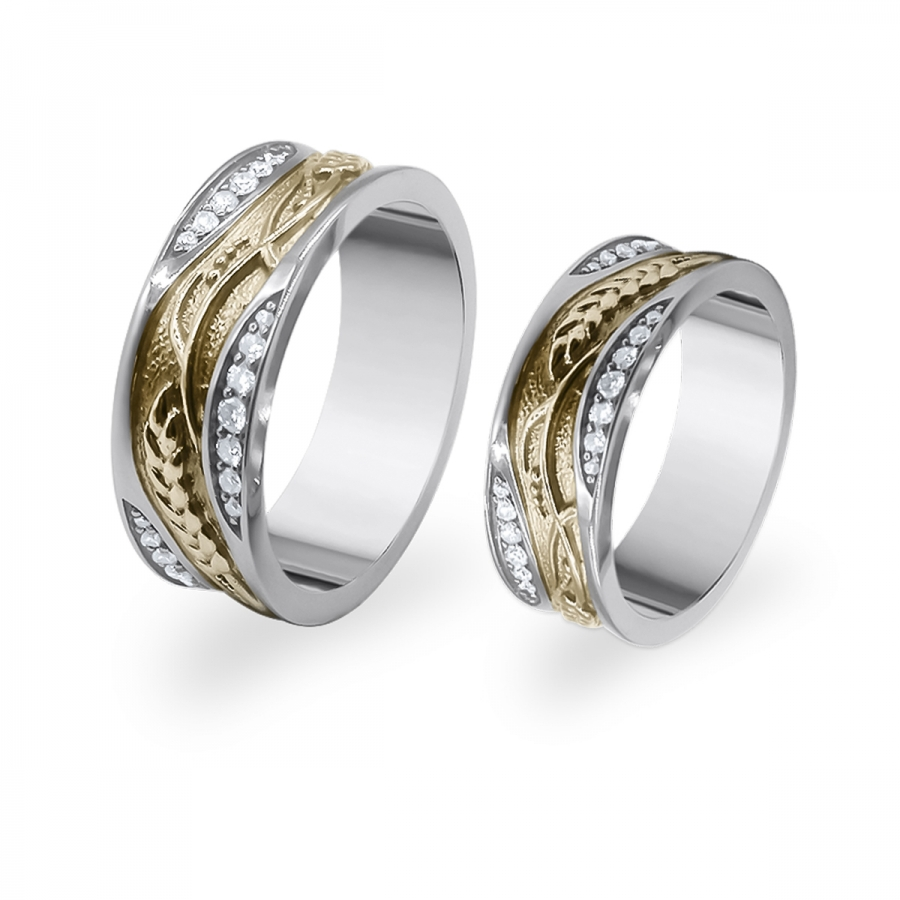 Золотые обручальные кольца 585         ПРОДАНО-1