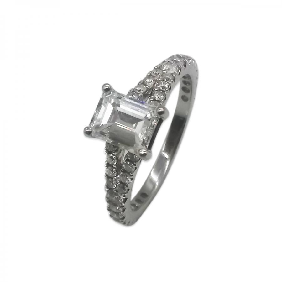 Золотое кольцо с Бриллиантом 1,1 ct ПРОДАНО-3