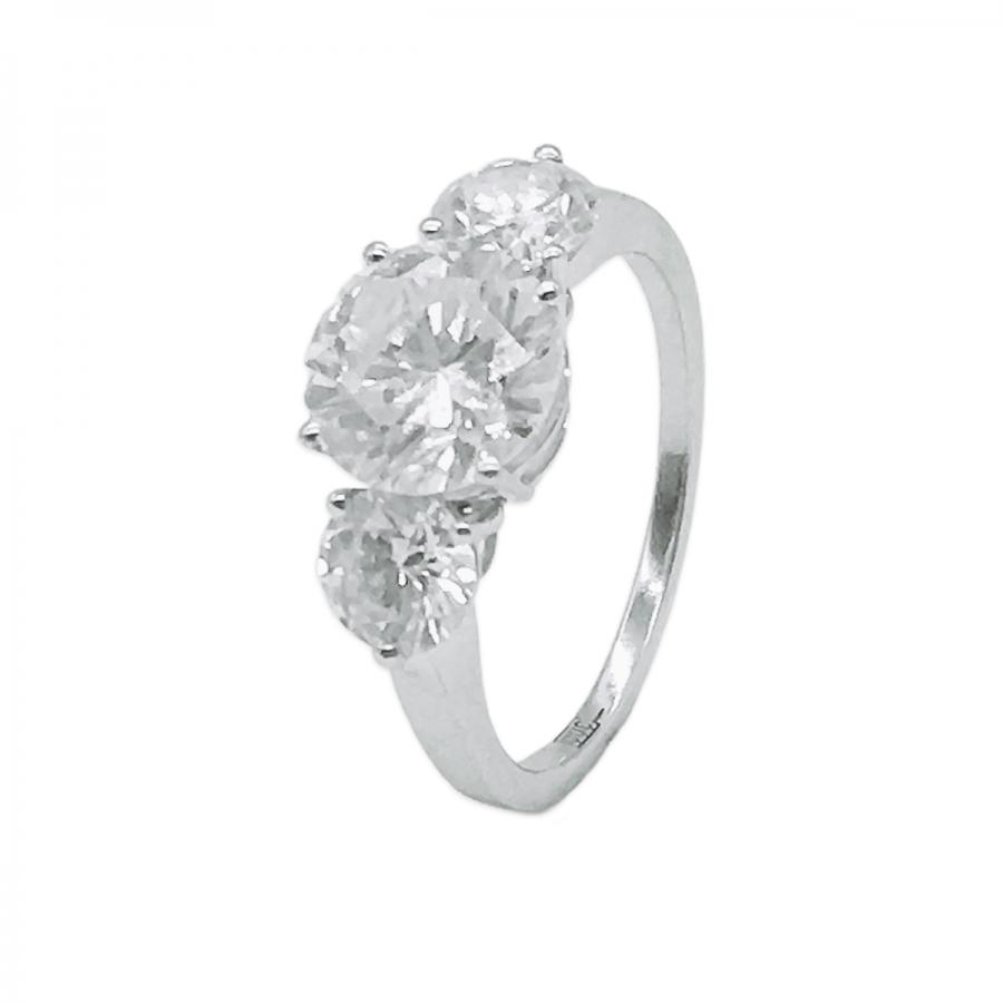 Золотое кольцо с Бриллиантом 2ct ПРОДАНО-1