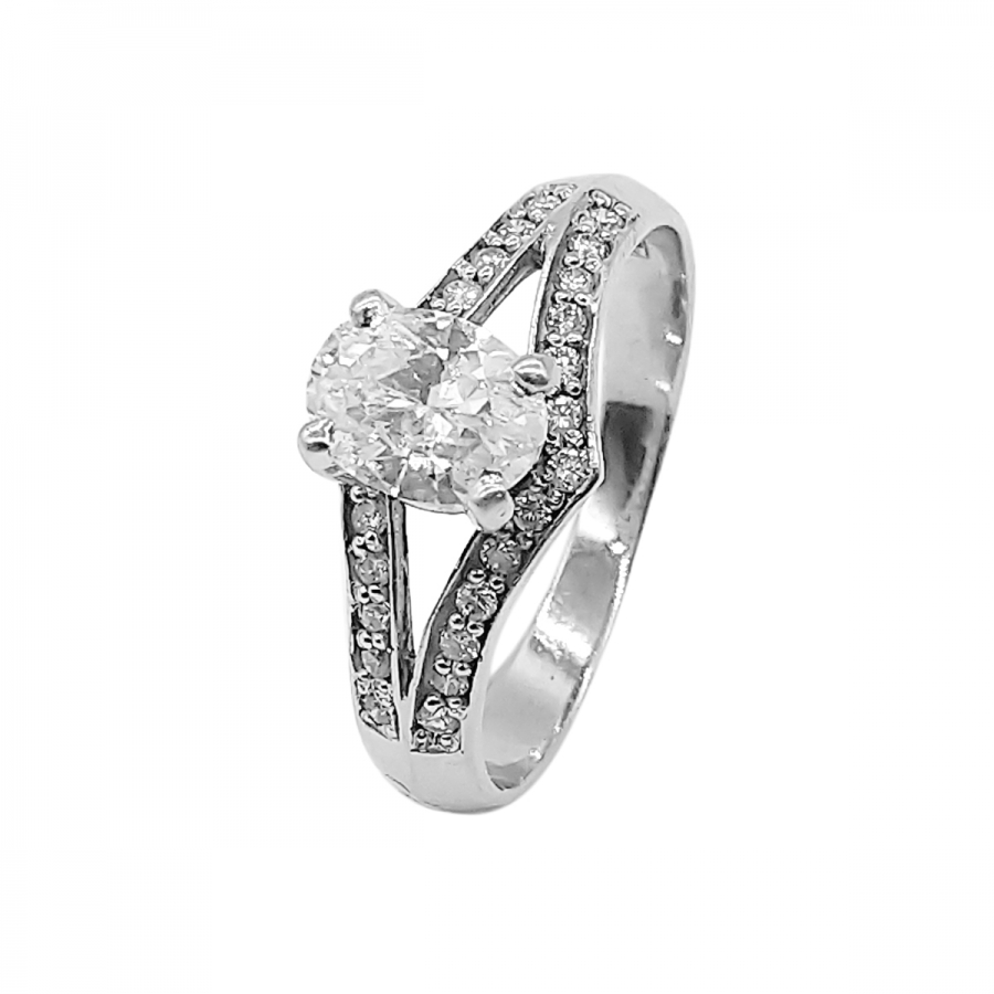 Золотое кольцо с бриллиантом 0,71 ct ПРОДАНО-2