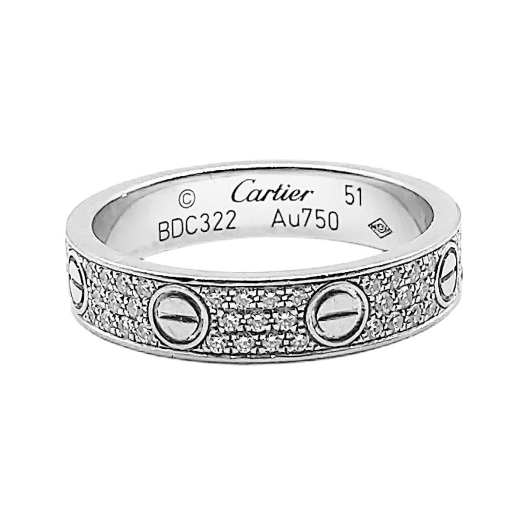 """Золотое кольцо с бриллиантами """"Cartier Love"""" ПРОДАНО-2"""