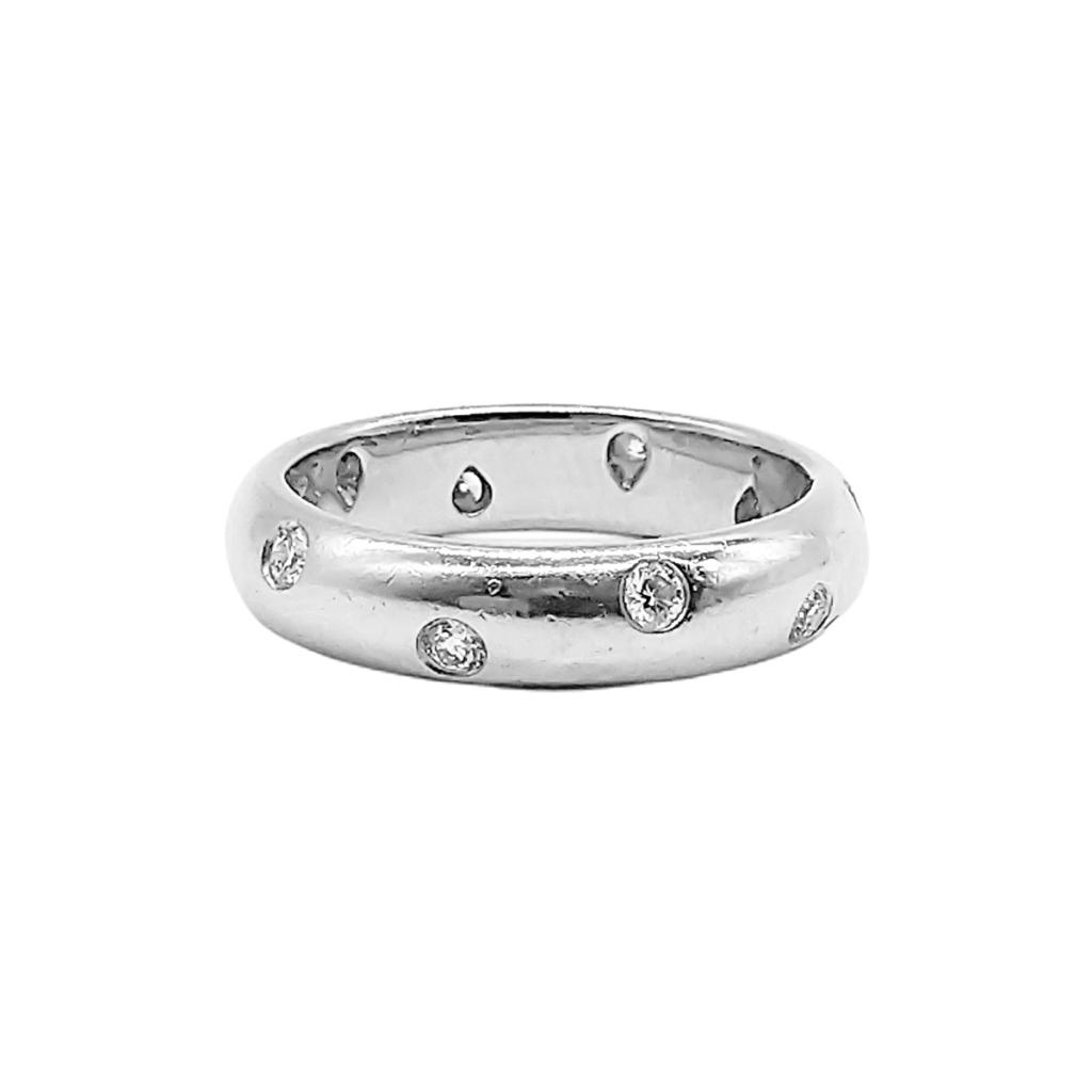 """Платиновое кольцо """"Tiffany Etoile"""" 950 пр.-4"""