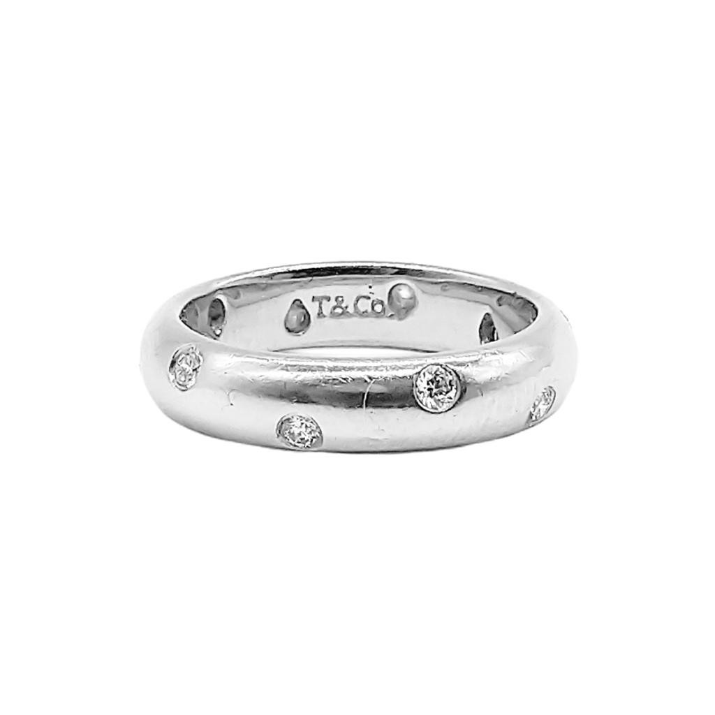 """Платиновое кольцо """"Tiffany Etoile"""" 950 пр.-2"""