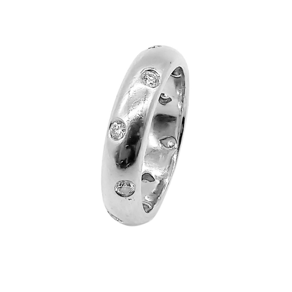"""Платиновое кольцо """"Tiffany Etoile"""" 950 пр.-1"""