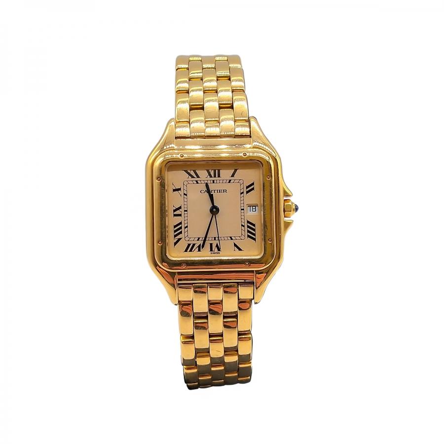 Золотые часы Cartier ПРОДАНО-11