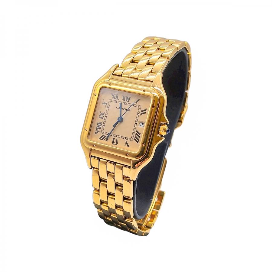 Золотые часы Cartier ПРОДАНО-12