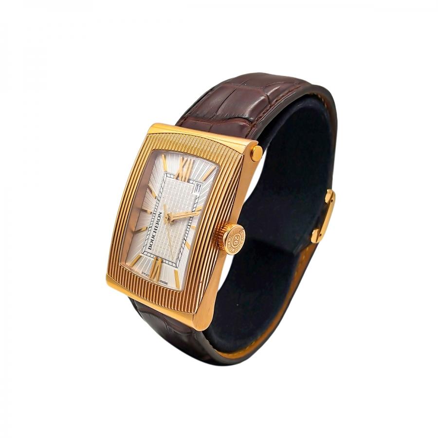 Золотые часы BOUCHERON REFLET XL-7