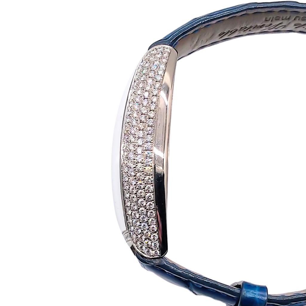 Franck Muller из белого золота с бриллиантами-8