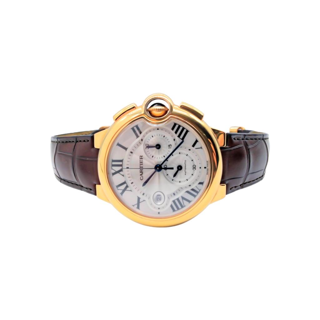 Золотые часы Cartier Baloon Bleu ПРОДАНО-4