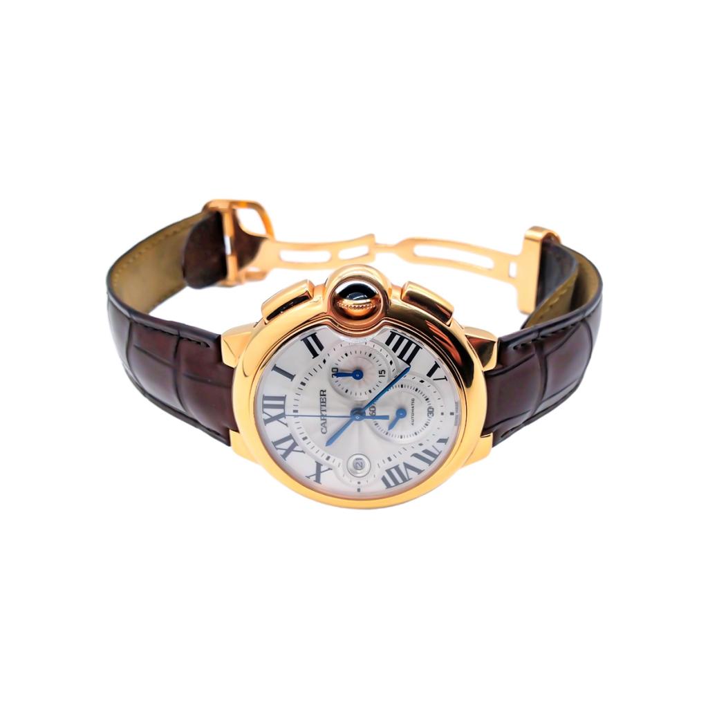 Золотые часы Cartier Baloon Bleu ПРОДАНО-6