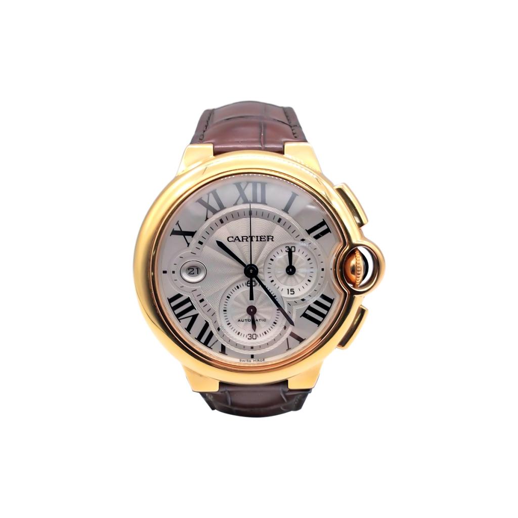 Золотые часы Cartier Baloon Bleu ПРОДАНО-1