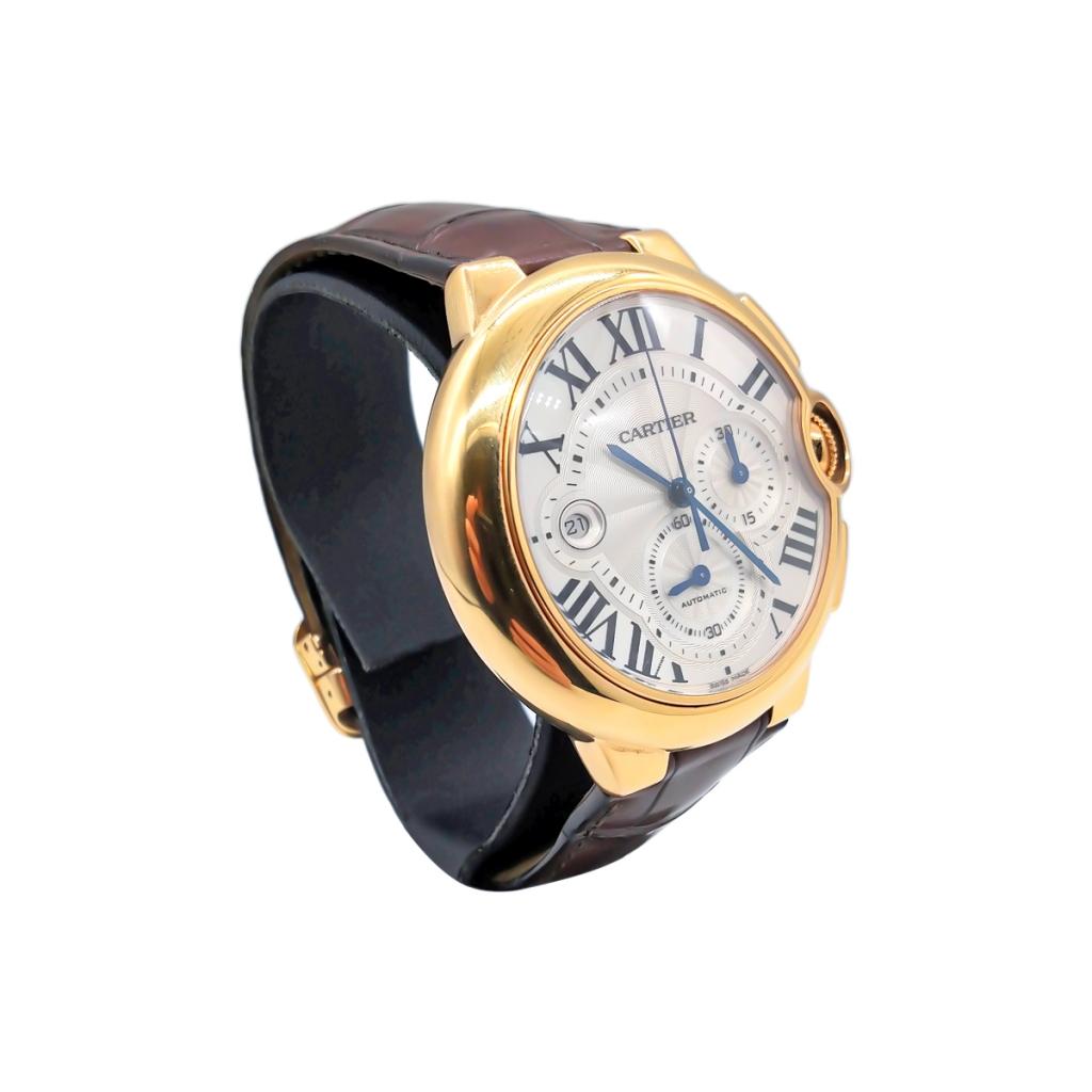 Золотые часы Cartier Baloon Bleu ПРОДАНО-3