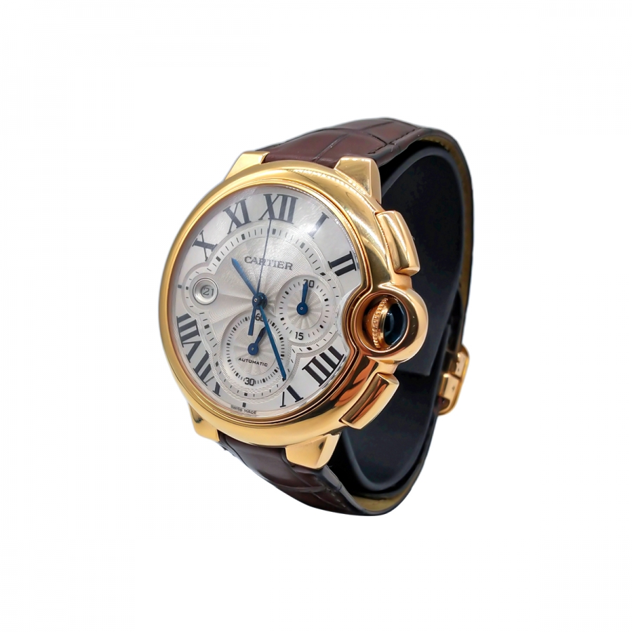 Золотые часы Cartier Baloon Bleu ПРОДАНО-5