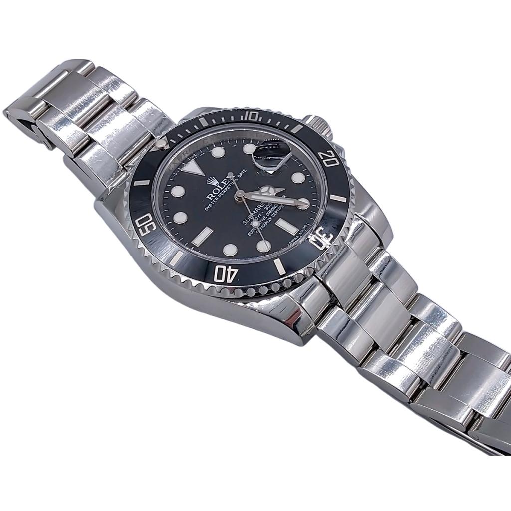 Rolex Submariner Date 40mm Steel Ceramic ПРОДАНО-9