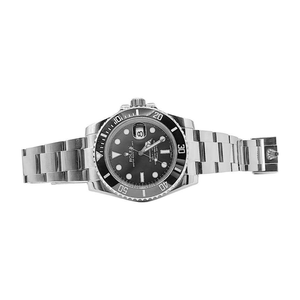 Rolex Submariner Date 40mm Steel Ceramic ПРОДАНО-8