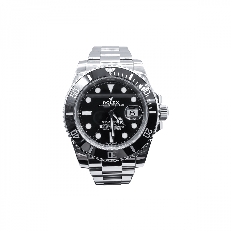 Rolex Submariner Date 40mm Steel Ceramic ПРОДАНО-2