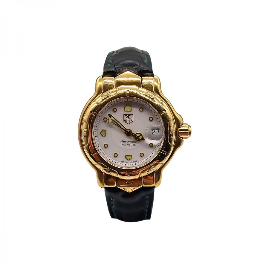 Золотые часы Tag Heuer 6000 Gold ПРОДАНО-1
