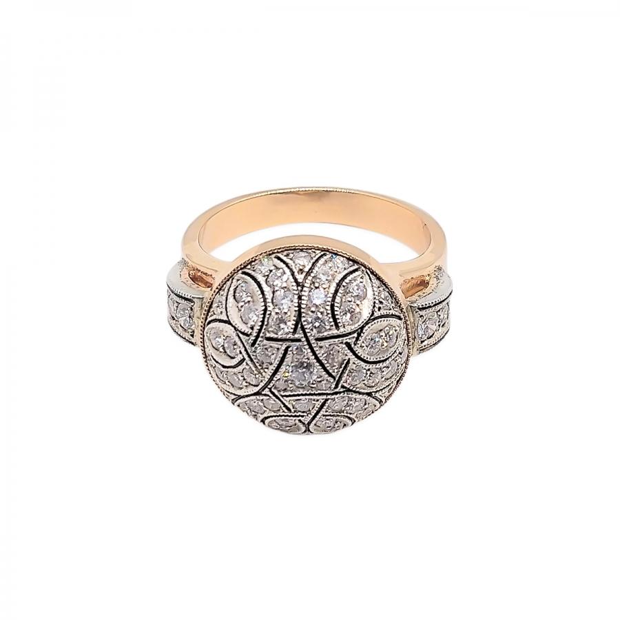 Кольцо с бриллиантами работы А. Помельникова-39