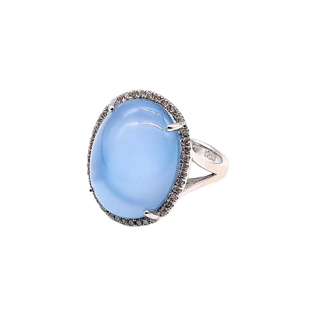 Золотое кольцо с сапфиром и бриллиантами-4