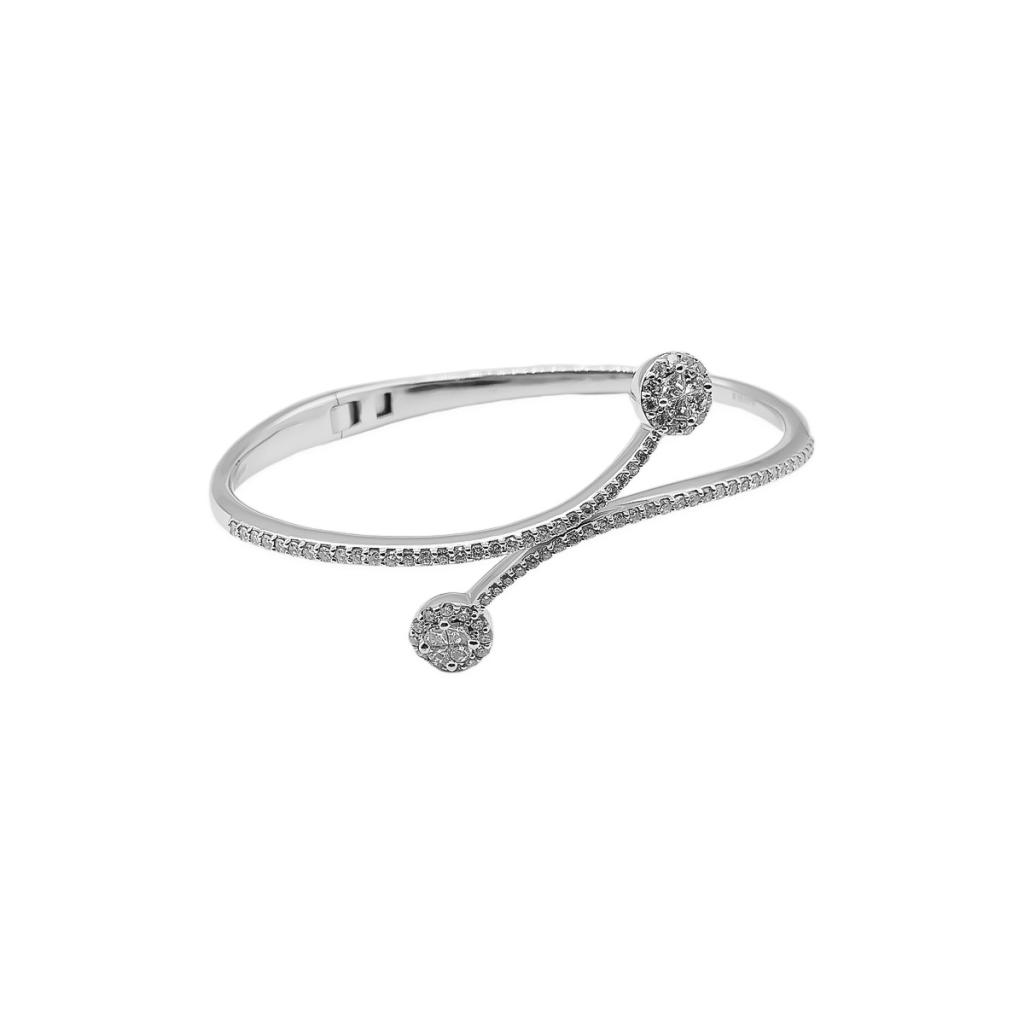 Золотой браслет с бриллиантами ПРОДАНО-1