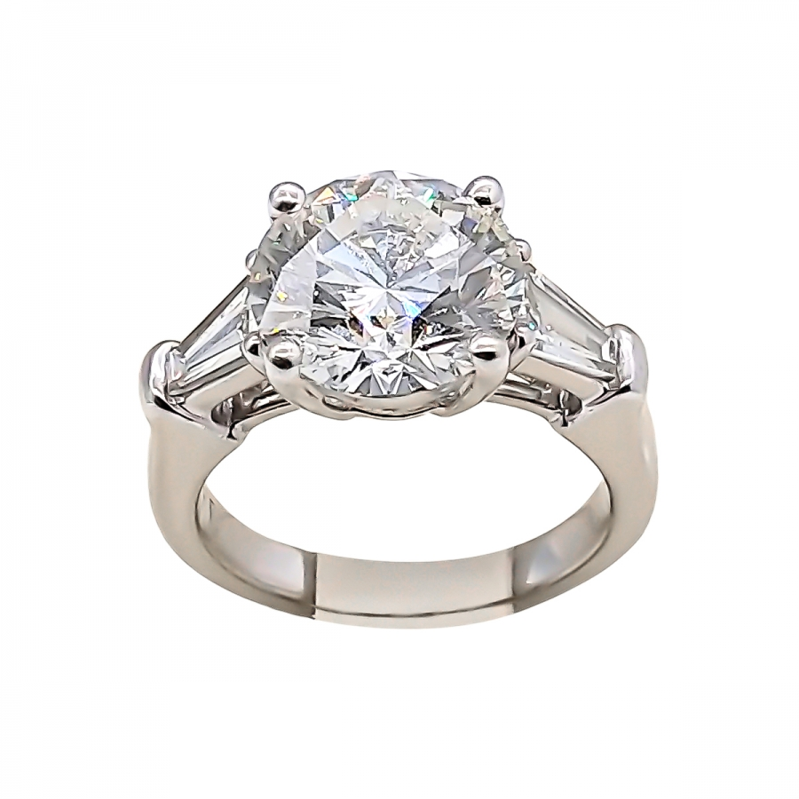 3,05 ct GIA золотое кольцо с бриллиантом ПРОДАНО-36