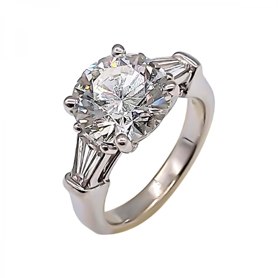 3,05 ct GIA золотое кольцо с бриллиантом ПРОДАНО-37