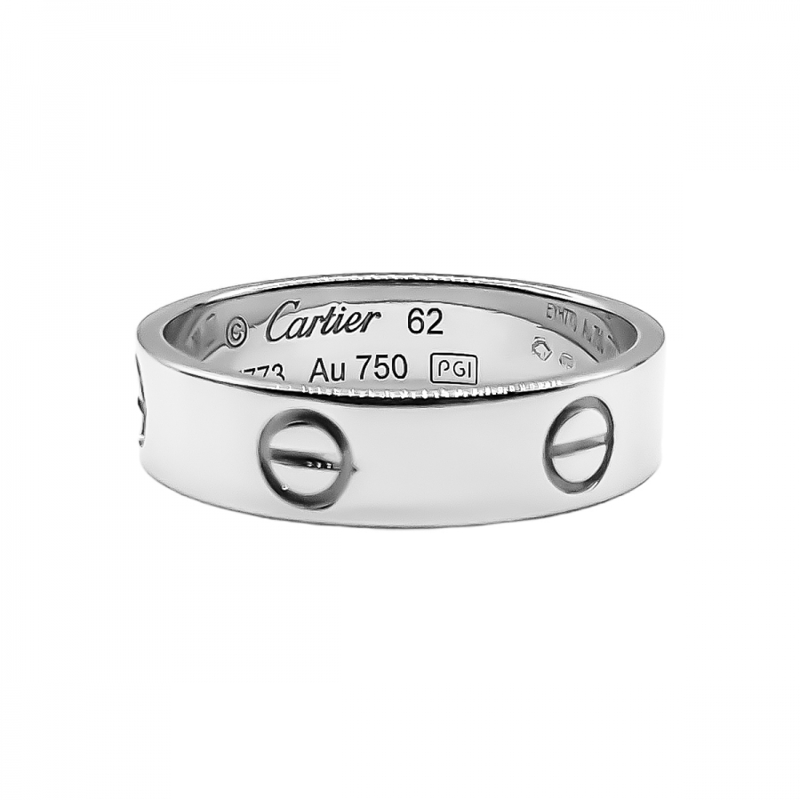 Cartier Love золотое кольцо-13