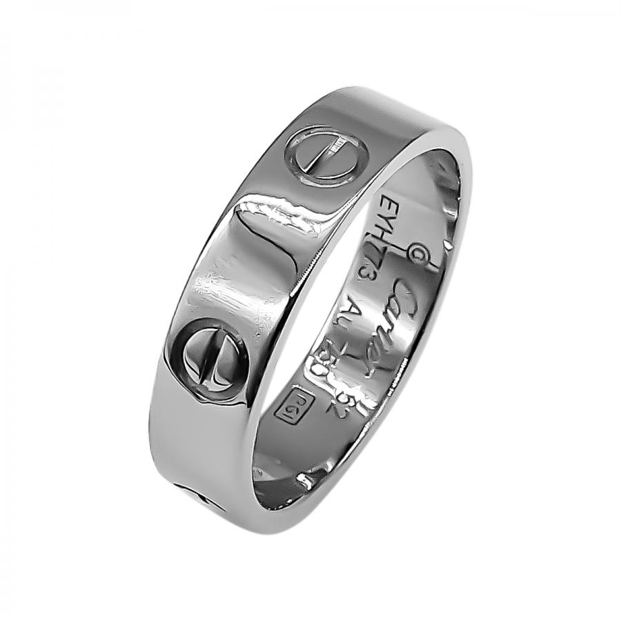 Cartier Love золотое кольцо-12