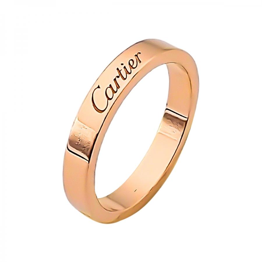 Cartier золотое женское кольцо De Cartier-3