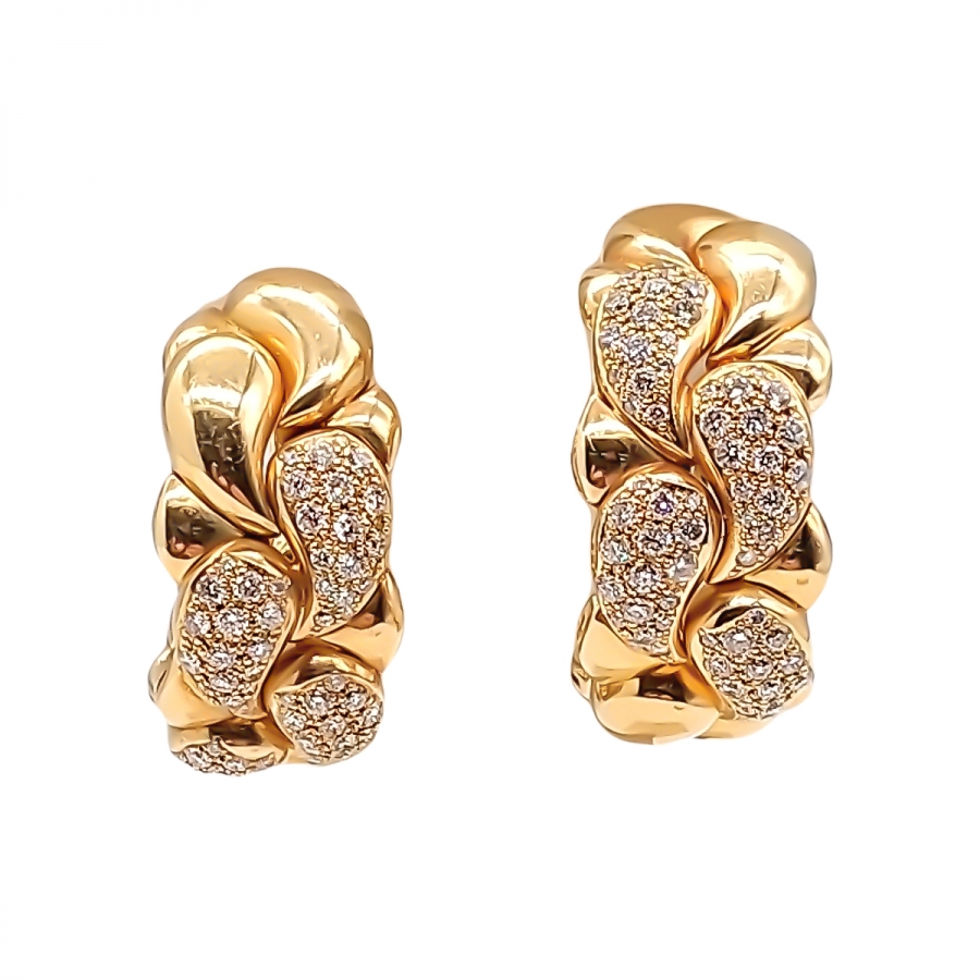 Chopard Casmir серьги с бриллиантами ПРОДАНО-8