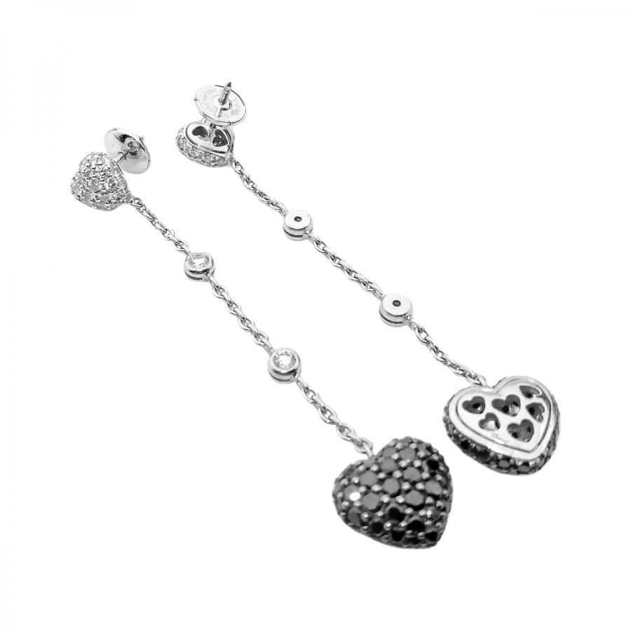 Chopard серьги с бриллиантами-10