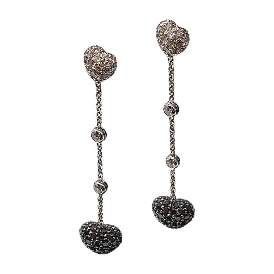 Chopard серьги с бриллиантами-11