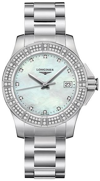 Longines Conquest женские часы с бриллиантами ПРОДАНО-1