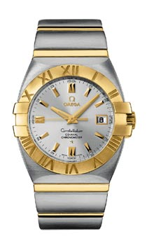 Omega Constellation Double Eagle Chronometer Steel/Gold механические часы-2
