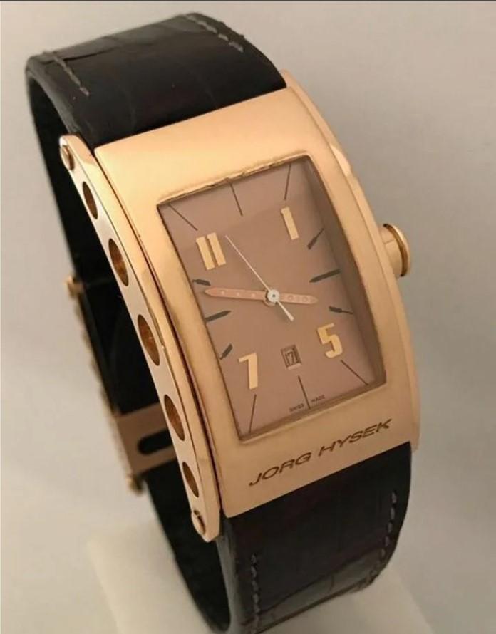 Jorg Hysek Kilada редкие золотые механические часы-28