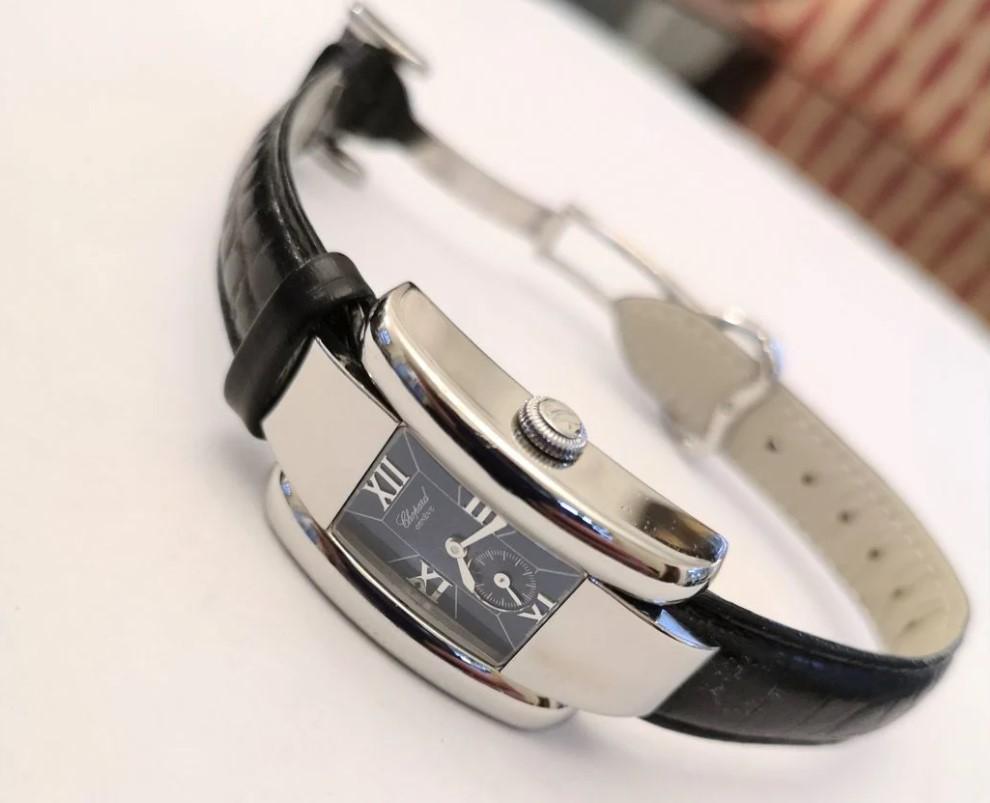Chopard La Strada Blue Dial Quartz женские часы-16