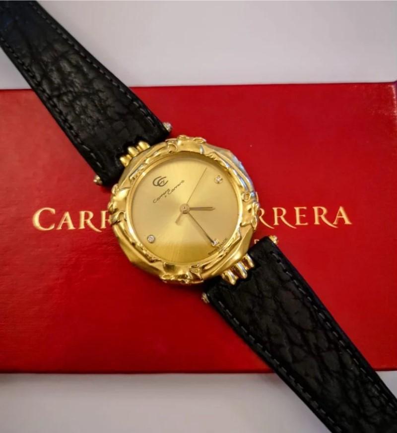 Carrera y Carrera золотые часы с бриллиантами-10