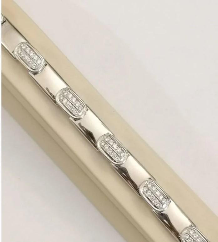 2,6 ct золотой браслет с бриллиантами-44